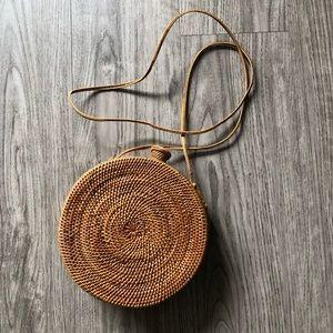 Woven Basket Purse